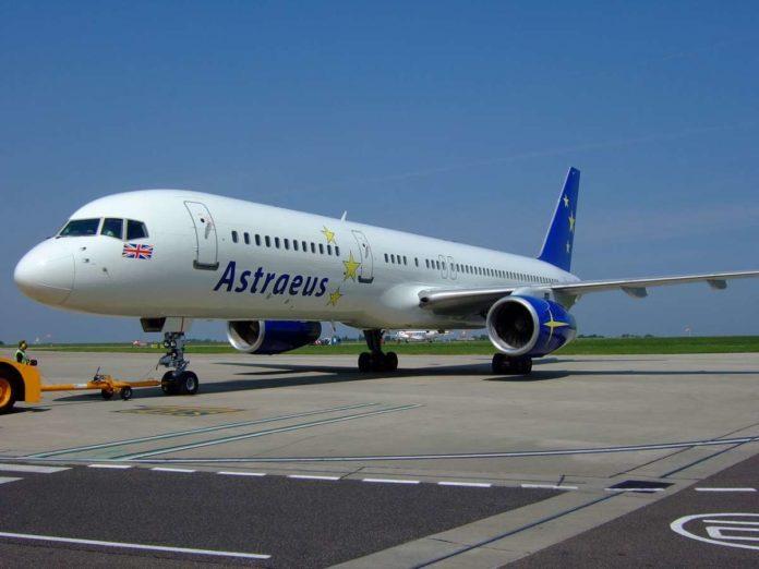 Astraeus Boeing 757-200