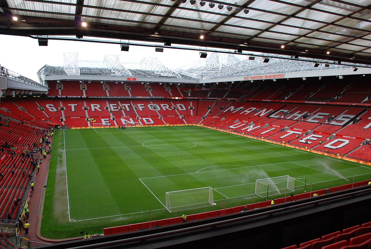Manchester Old Trafford stadium