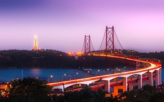 25th April Bridge, Lisbon, Portugal