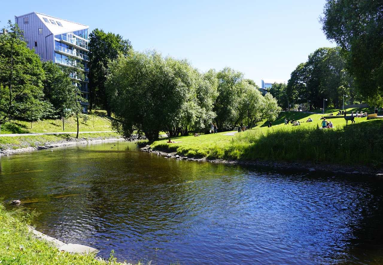 Akerselva, Grünerlokka c. Tord Baklund