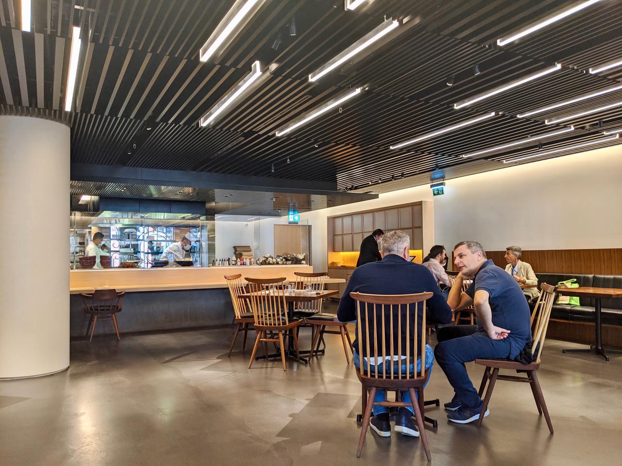 Interior of Akira Restaurant