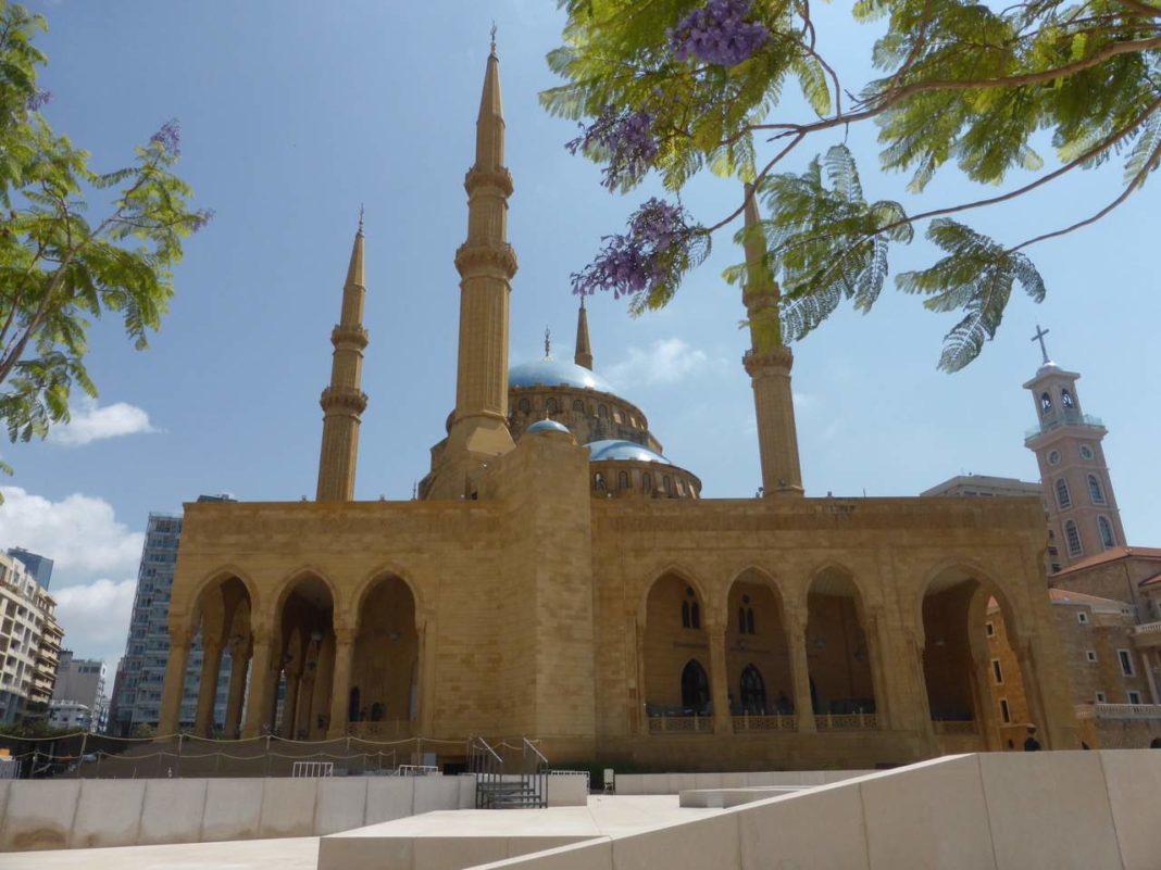 Al Amine Mosque (or Hariri Mosque), Beirut
