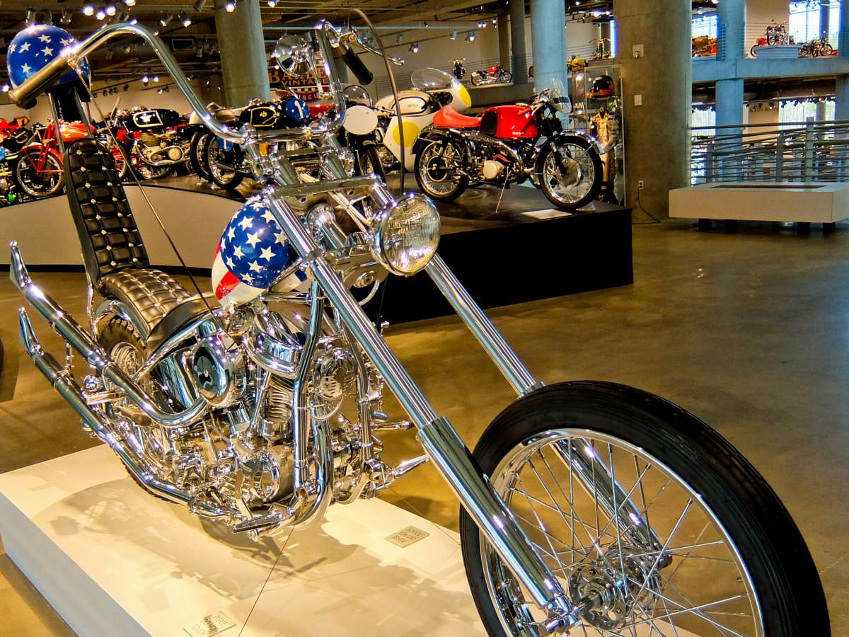 Alabama - Barber Motorcycle Museum Easy Rider