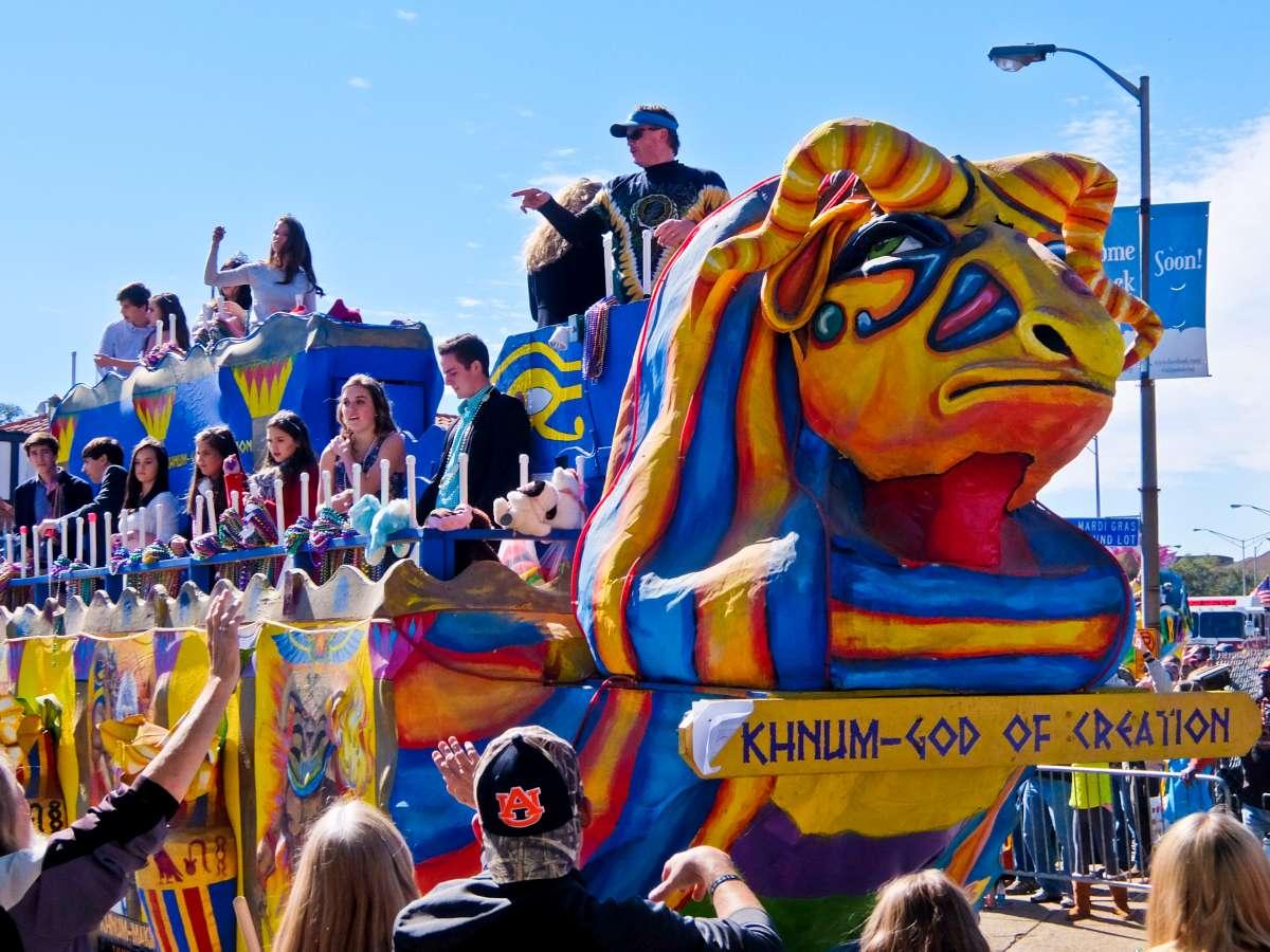 Alabama - Mardi Gras Khnum Mobile
