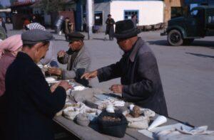 Almaty stall during Soviet era