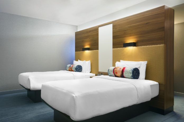 Aloft Twin room Brussels