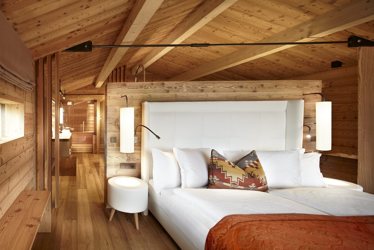Alpe bedroom