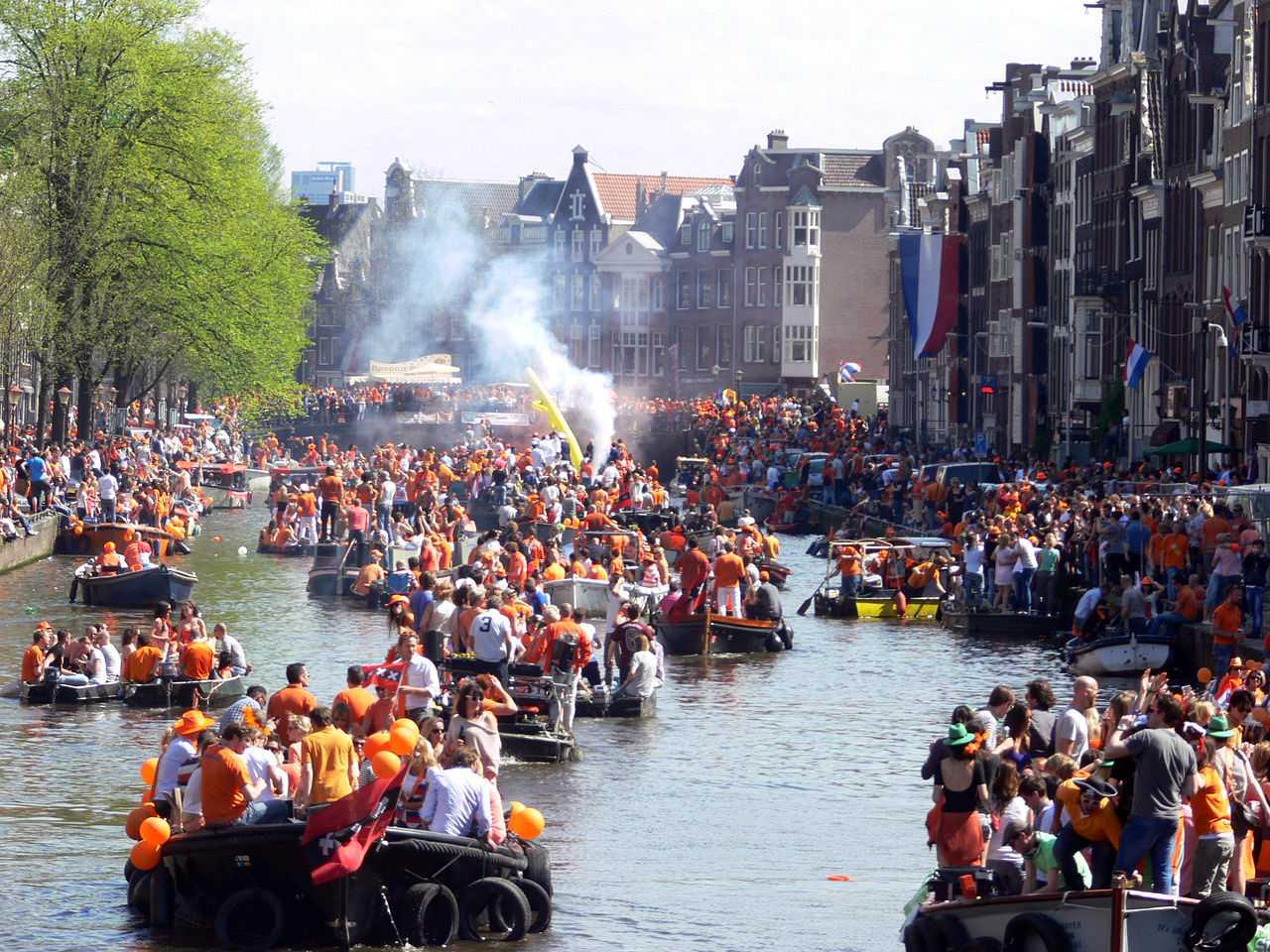 Amsterdam Koninginnedag