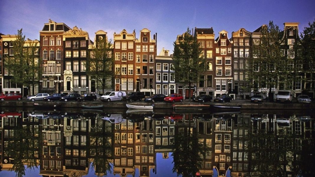 Amsterdam gabled houses