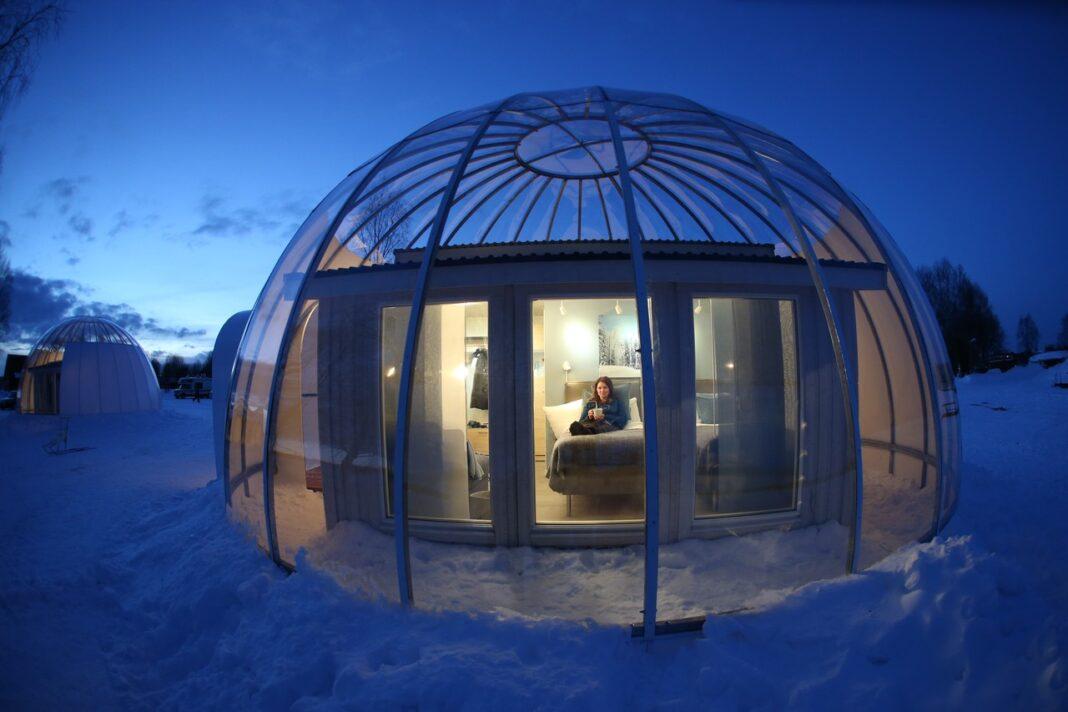 Artic bubble Sweden lapland
