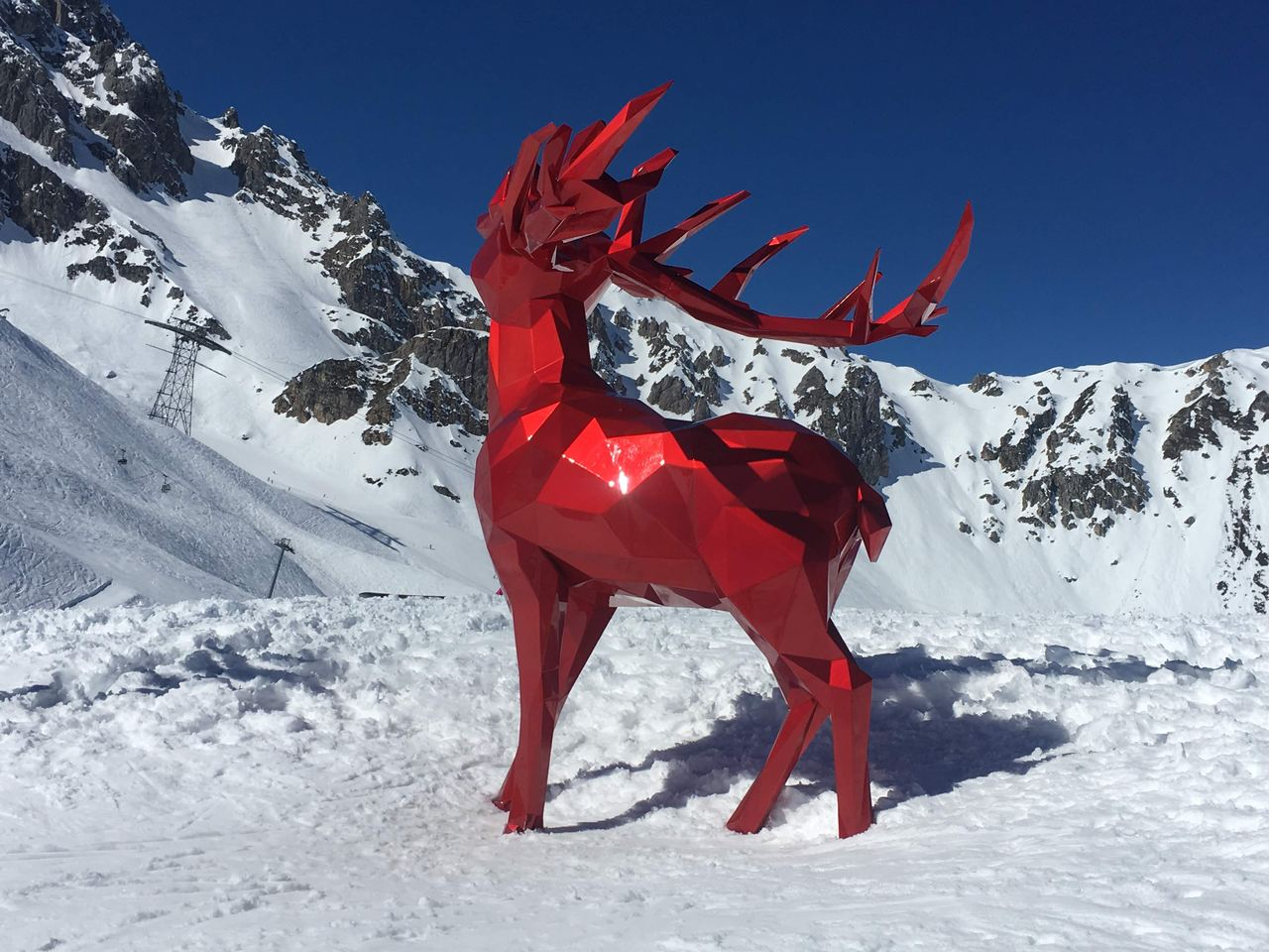 Art at the summit