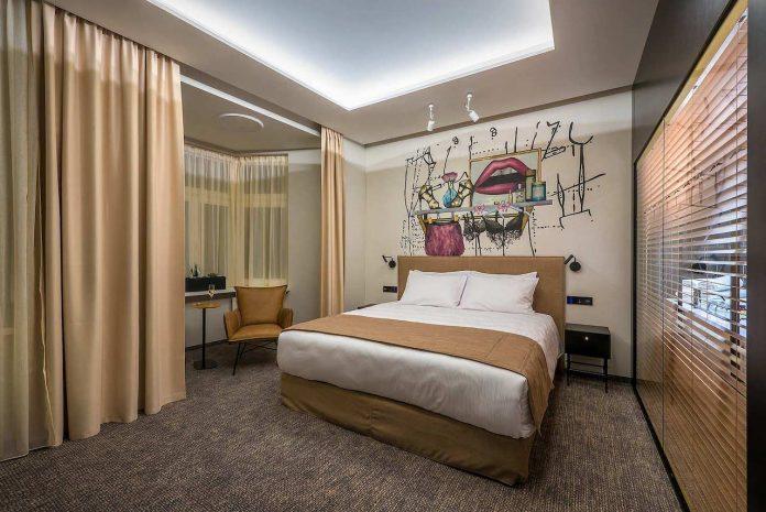 Artagonist Art Hotel - bedroom 2