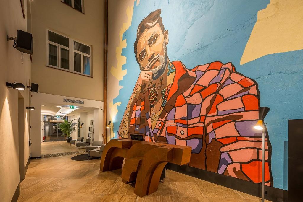 Artagonist Art Hotel - lobby