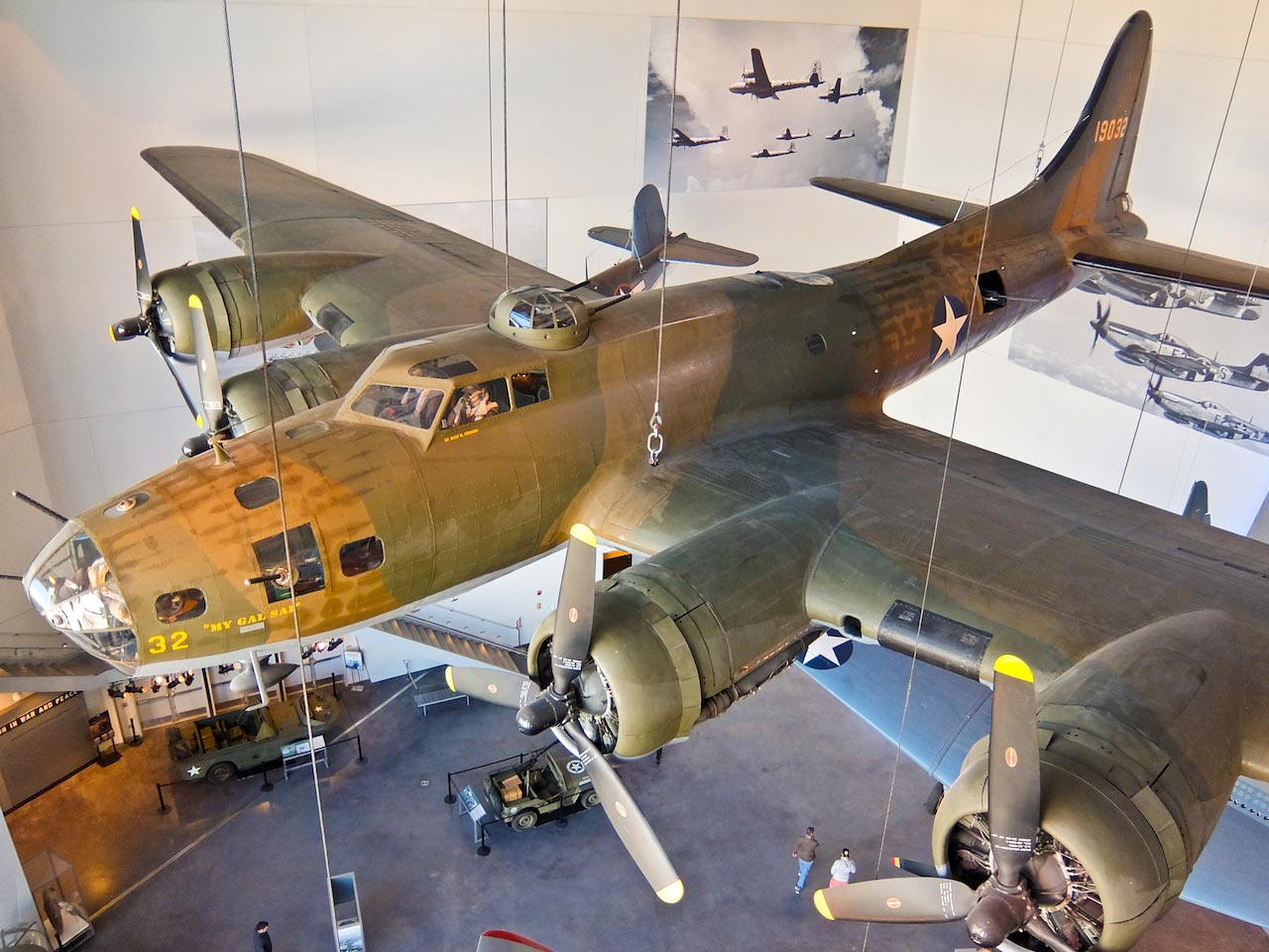 B17 at National WW2 Museum, New Orleans