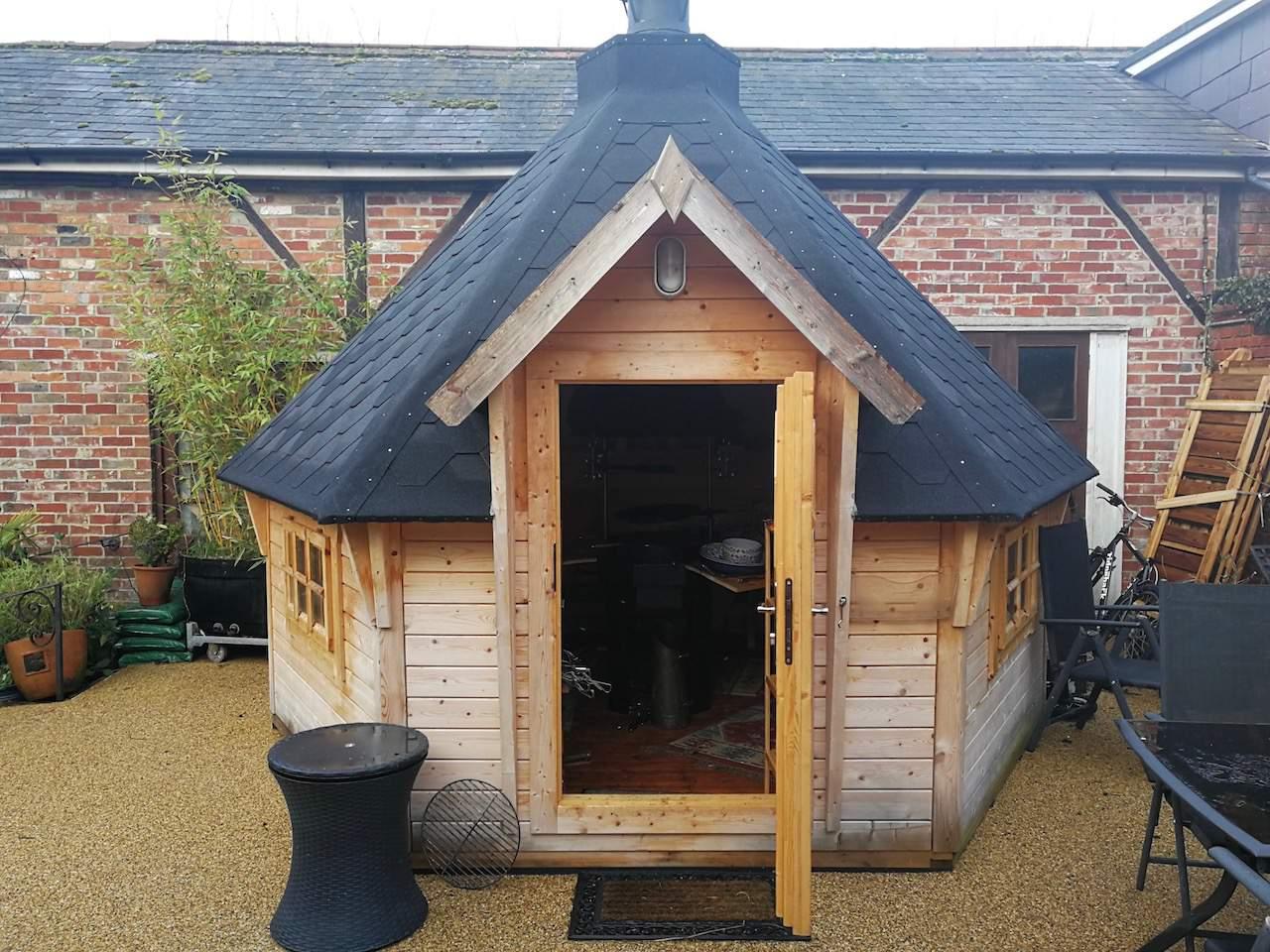BBQ Hut at La Fosse
