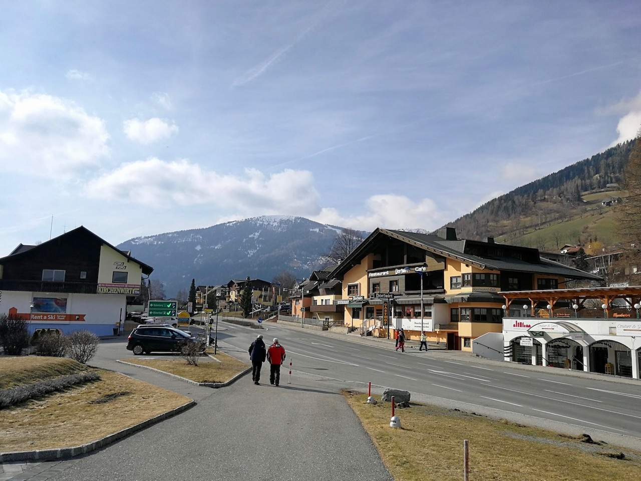 The alpine resort of Bad Kleinkirchheim