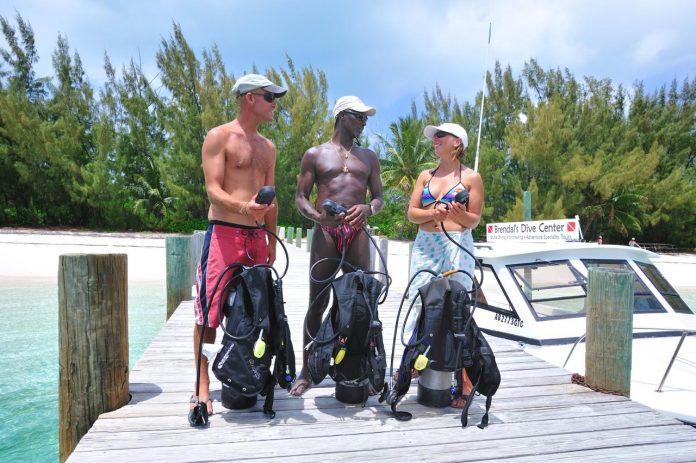 Bahamas Brendal dive center Abaco