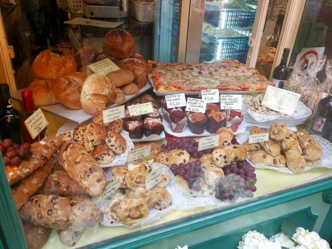 Bakery in Bergamo