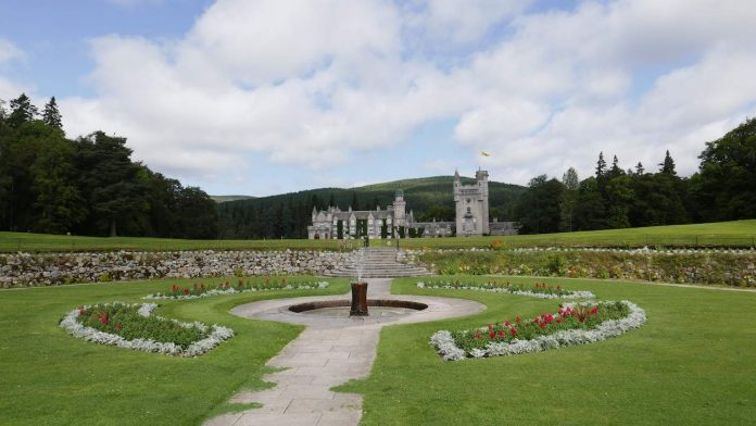 Balmoral Castle and grounds