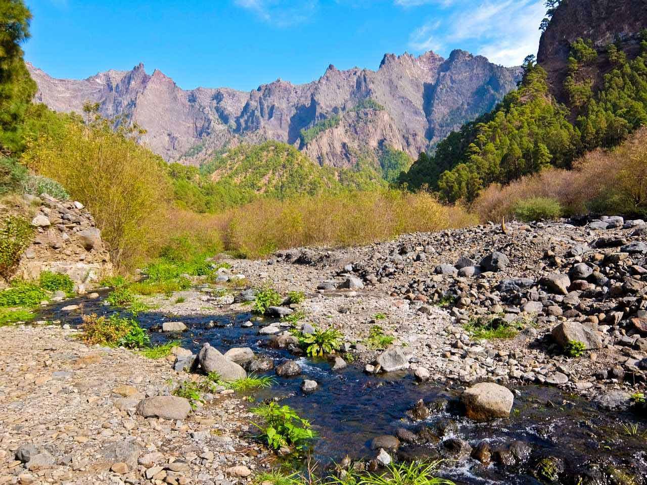 Barranco de las Angustias, La Palma
