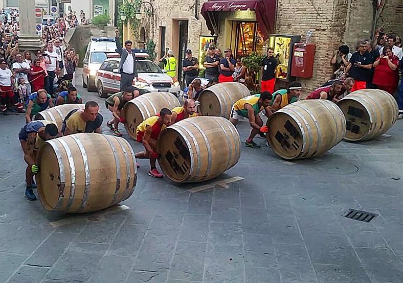 Battle of the barrels