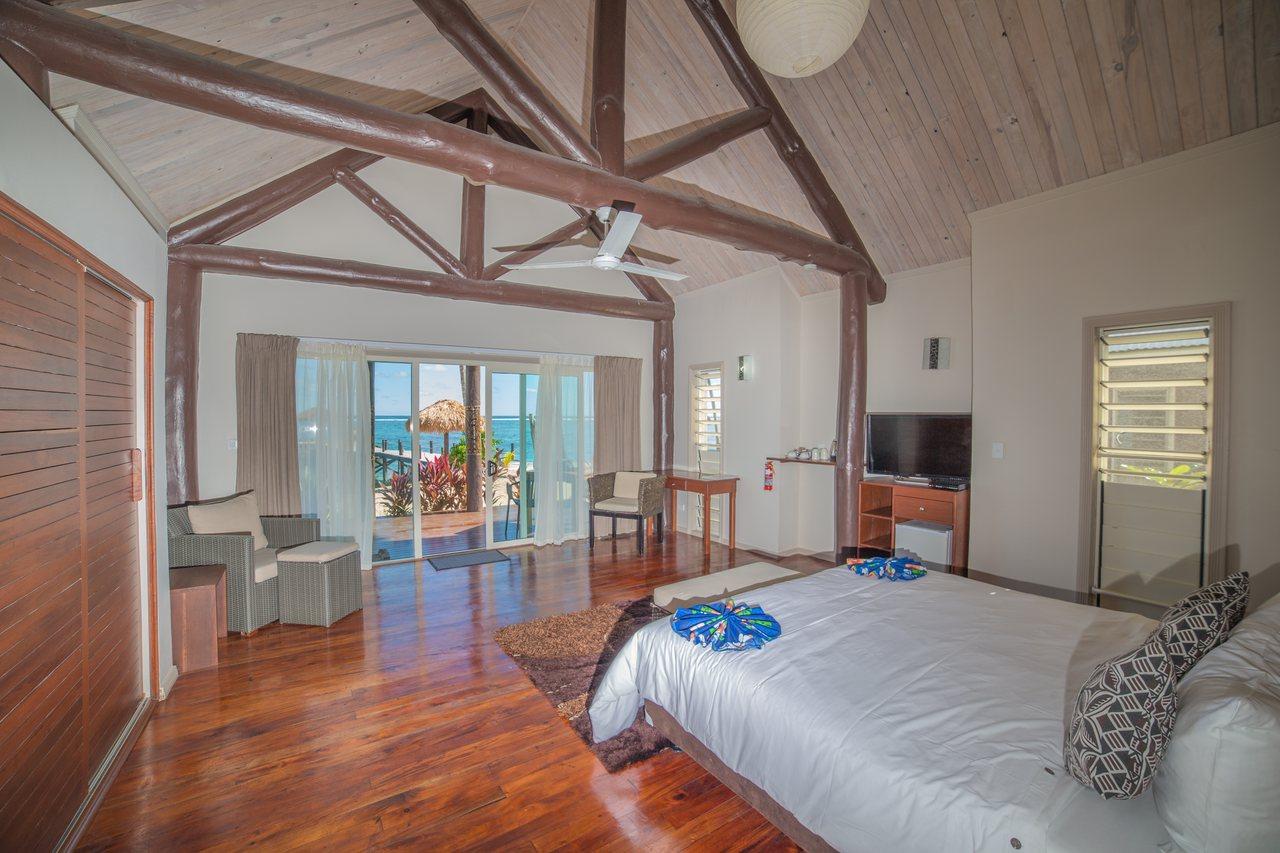 Beachfront Villa interior