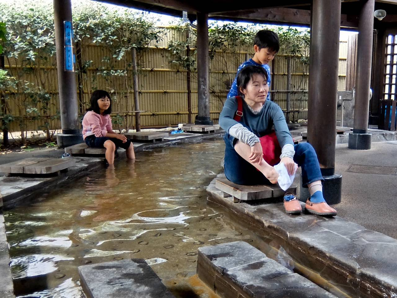 Beppu Foot Steam Bath