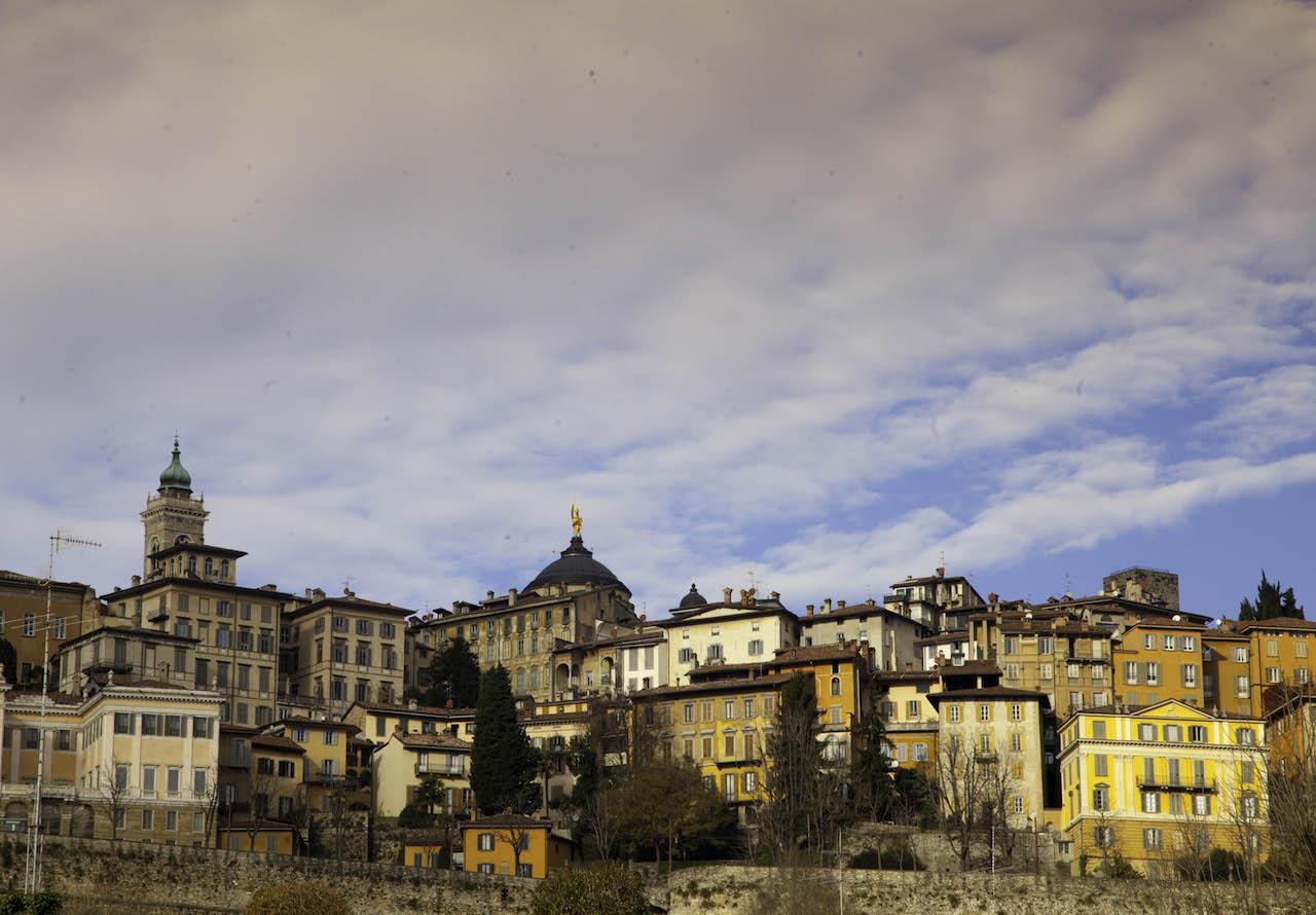 Italy Bergamo Città Alta