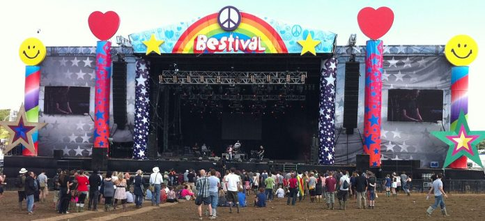 Bestival 2010 main stage