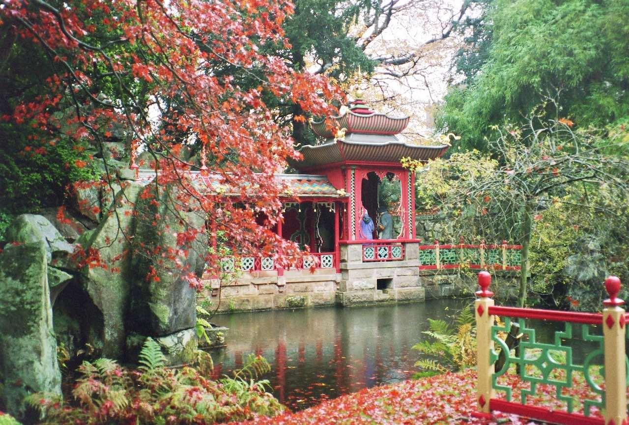 Biddulph Grange Garden Chinese Temple