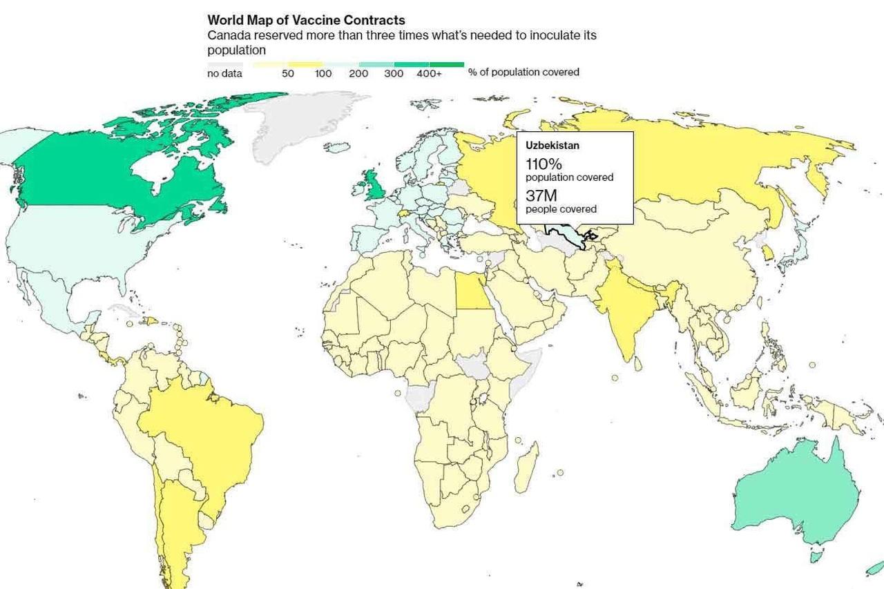 Bloomberg map