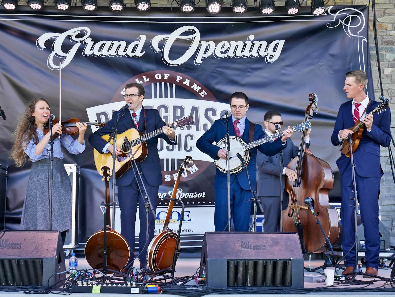 Bluegrass Museum Grand Opening