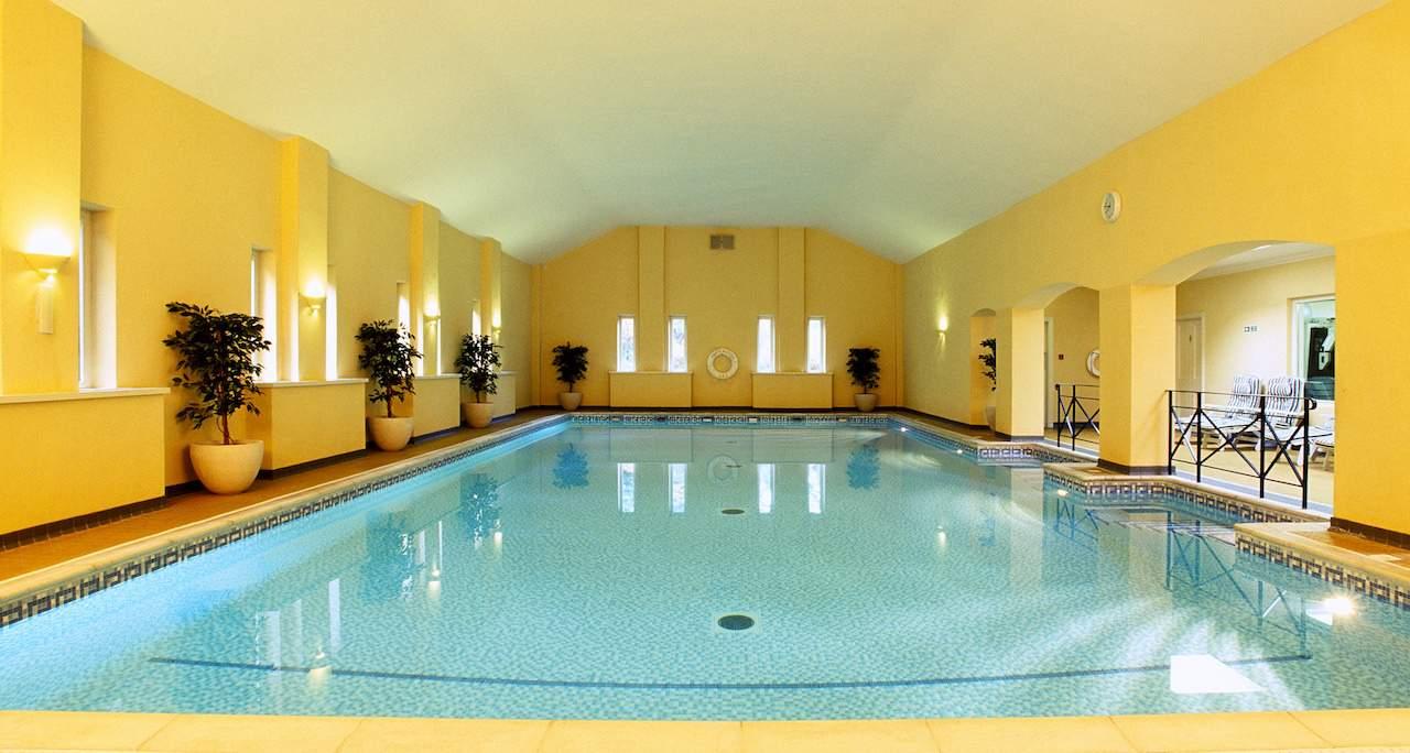 The spa at Bodysgallen Hall