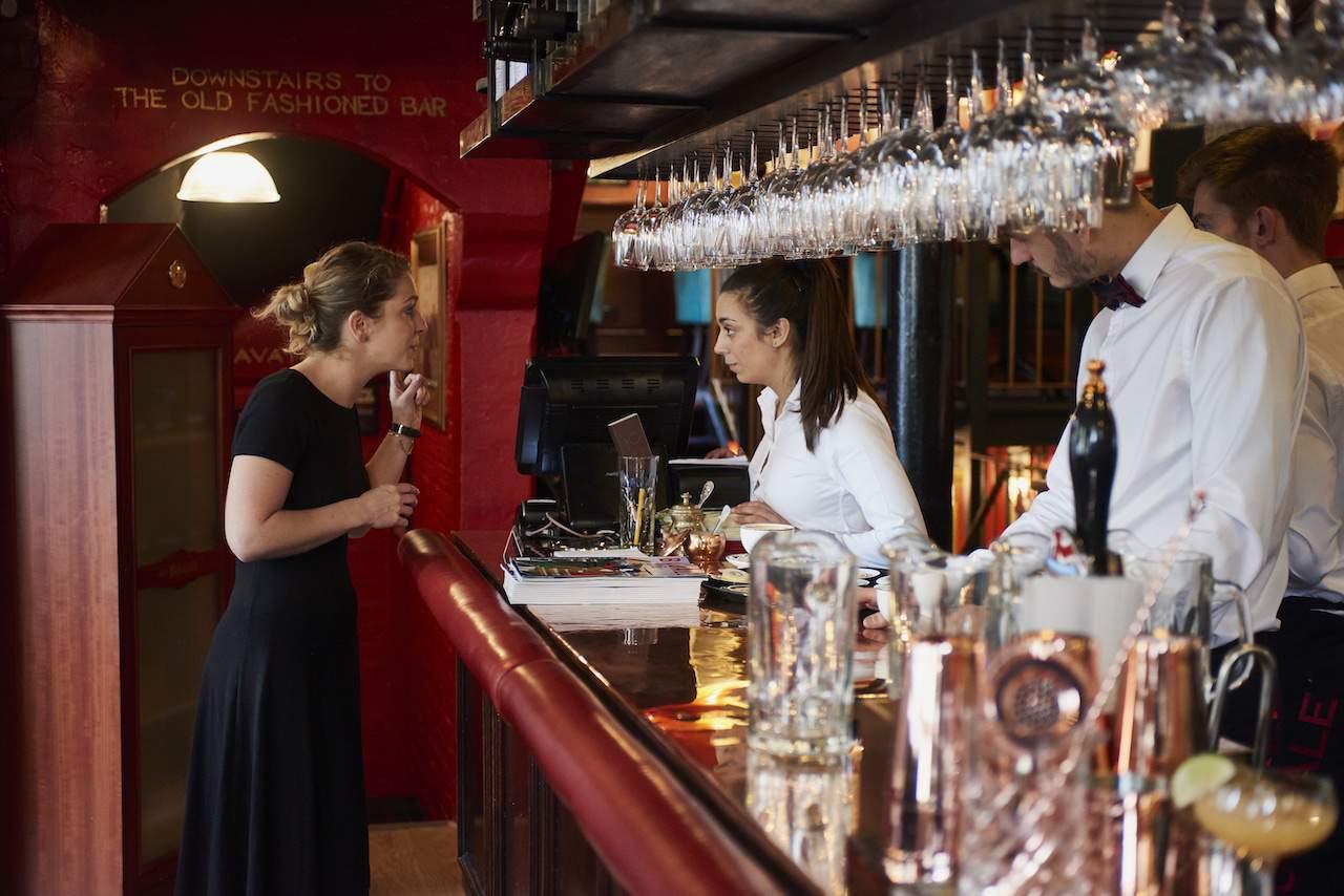 Boisdale of Mayfair bar