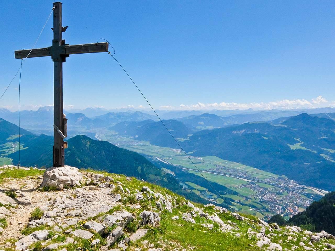 Brandenberg Alps, Tyrol - Rosskogel Cross