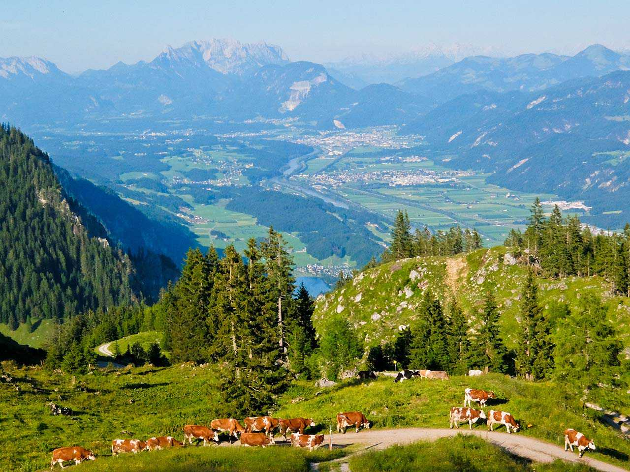Brandenberg Alps, Tyrol - View from Bayreuther Hutte