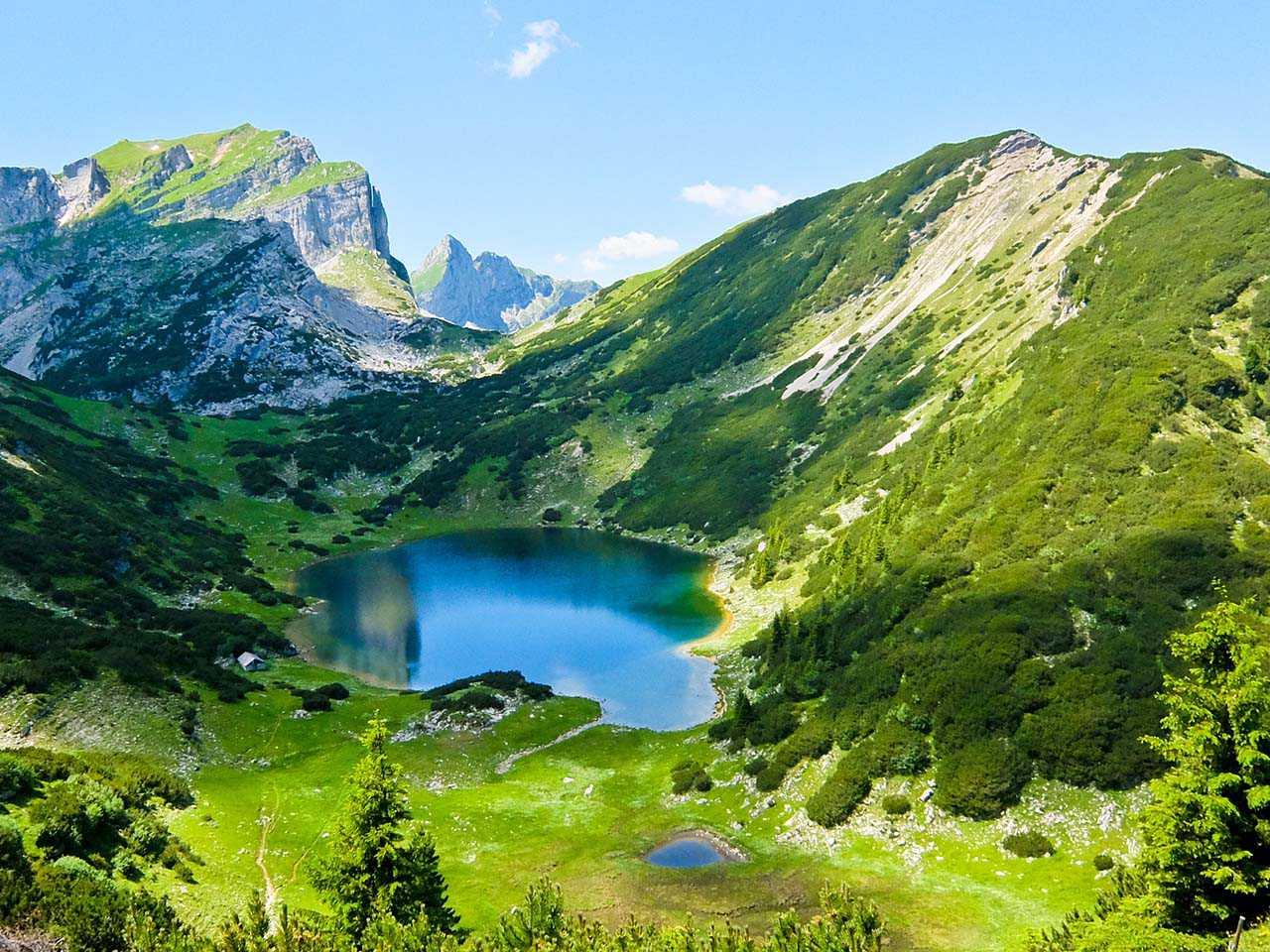 Brandenberg Alps, Tyrol - Zireiner See