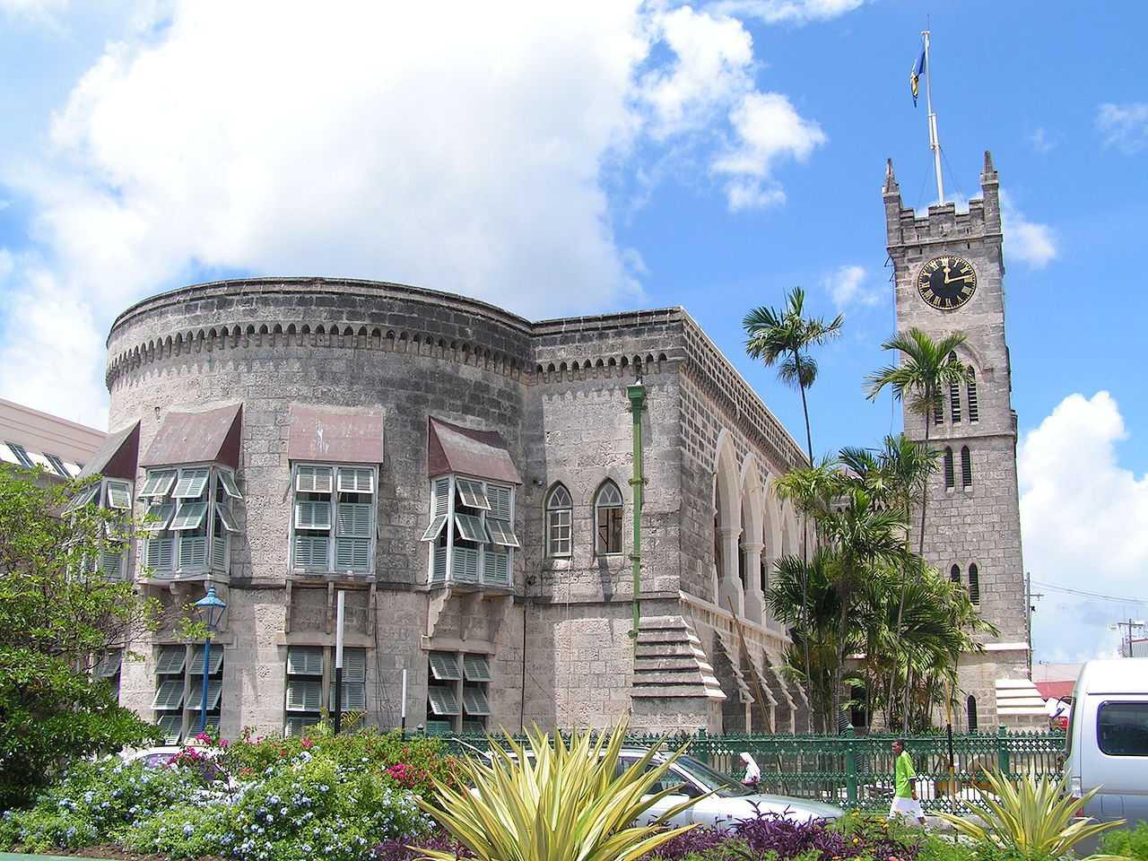 Parliament building, Bridgetown (c) wikimedia/regani