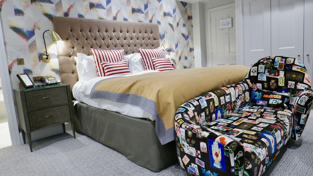 Bristol Harbour Hotel corner suite