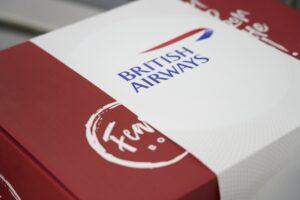 British Airways Feast Meal