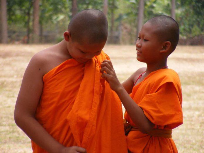 Buddhist children