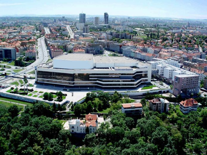 Building of the Prague Congress Centre_courtesy of PCC