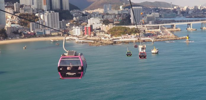 Busan - cable car