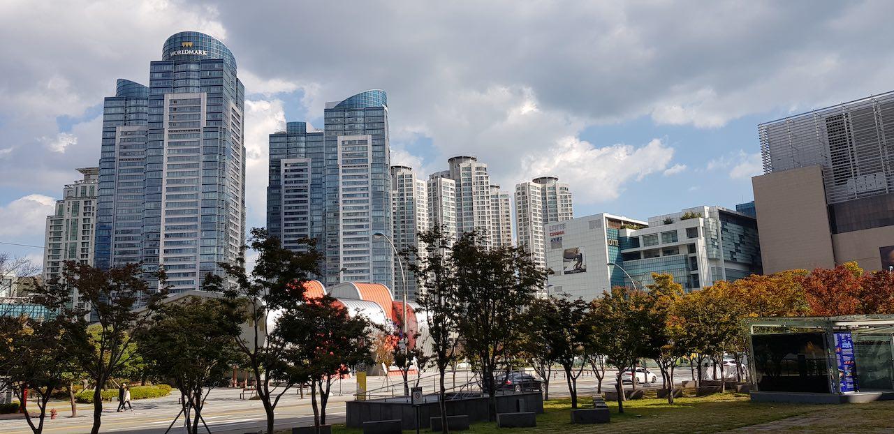 Busan - skyscrapers
