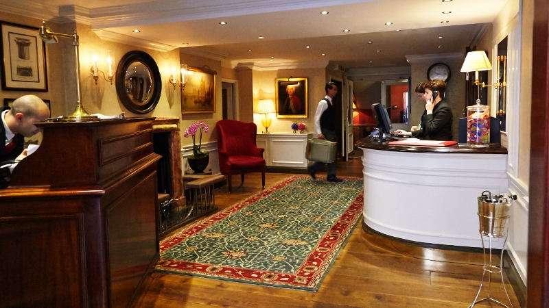 Capital Hotel, London - lobby