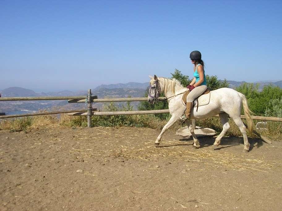 Caballo Blanco horse rider