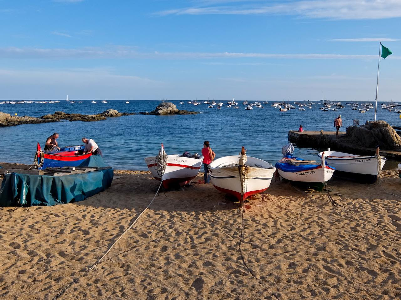 Calella de Palafrugell Fishing Boats