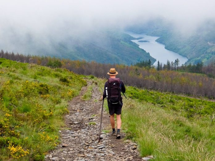 Camino Primitivo - Hiking in Mist