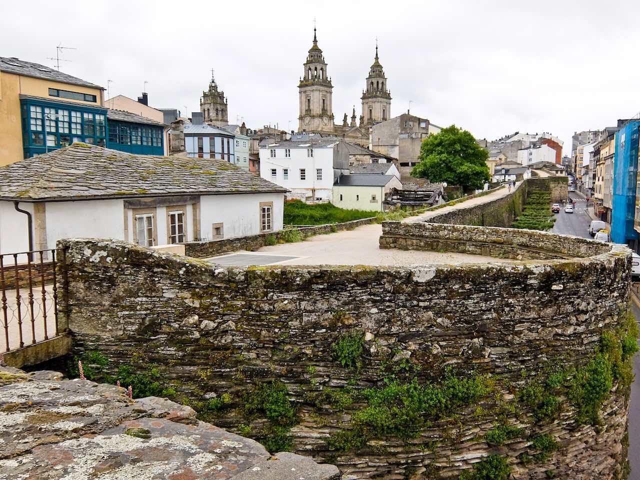 Camino Primitivo - Lugo Walls