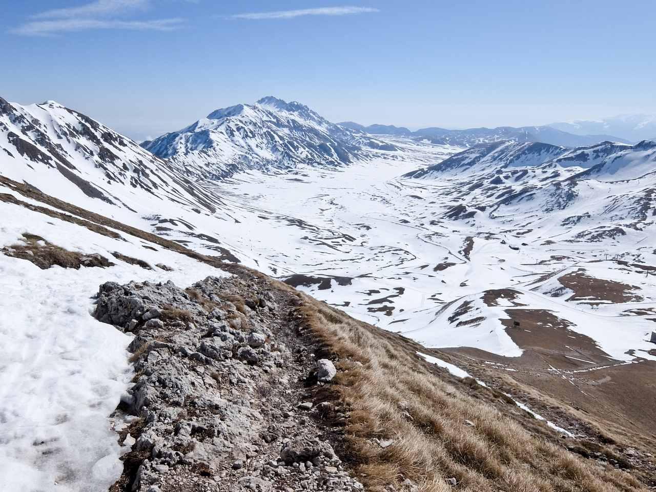 Rugged slopes of Abruzzo